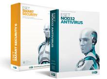 نرم افزار ESET NOD32 Antivirus دو کاربره